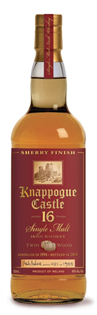 Knappogue Castle Irish Whiskey Single Malt 16 Year Twin...